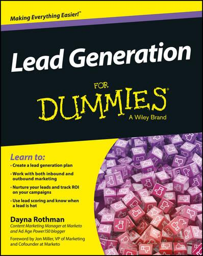 Lead Generation for Dummies (Paperback)