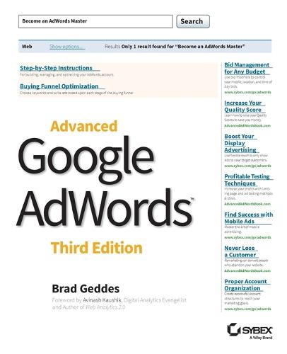 Advanced Google AdWords (Paperback)
