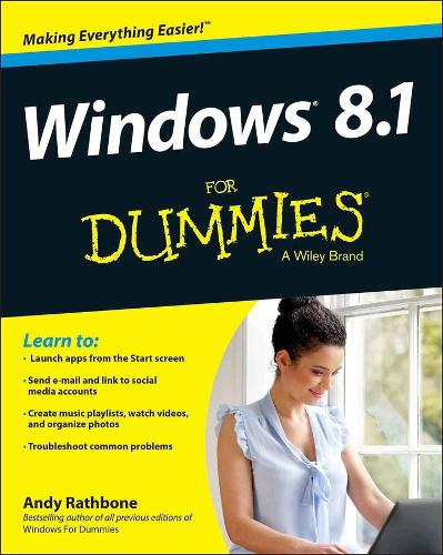 Windows 8.1 for Dummies (Paperback)