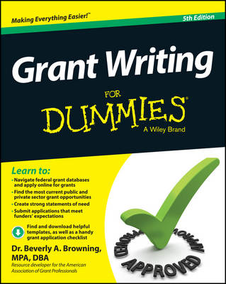 Grant Writing for Dummies, 5th Edition (Paperback)