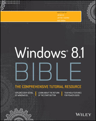 Windows 8.1 Bible - Bible (Paperback)