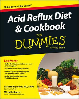 Acid Reflux Diet & Cookbook For Dummies (Paperback)