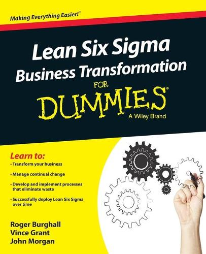Lean Six Sigma Business Transformation For Dummies (Paperback)