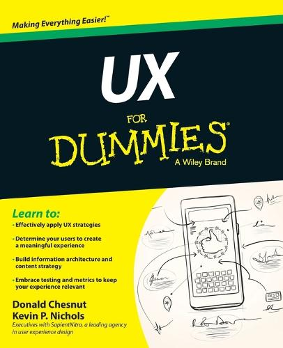 UX For Dummies (Paperback)