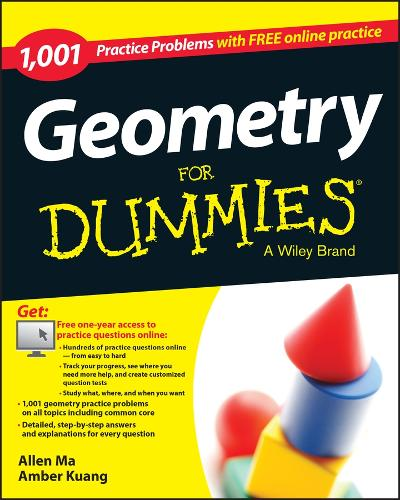 1,001 Geometry Practice Problems for Dummies (Paperback)