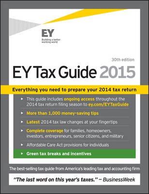 EY Tax Guide 2015 (Paperback)