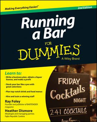 Running a Bar For Dummies (Paperback)
