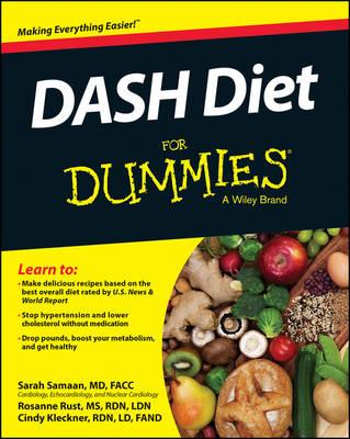 DASH Diet For Dummies (Paperback)