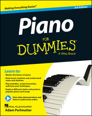 Piano For Dummies: Book + Online Video & Audio Instruction (Paperback)