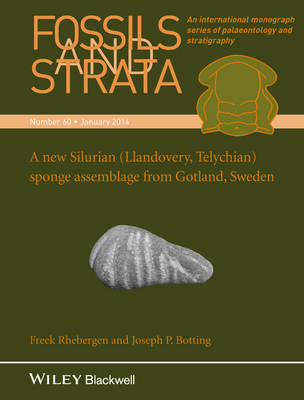 Fossils and Strata: A New Silurian (Llandovery, Telychian) Sponge Assemblage from Gotland, Sweden - Fossils and Strata Monograph Series (Paperback)