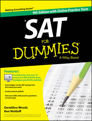 Sat for Dummies, 9th Edition with Online Practice (Paperback)