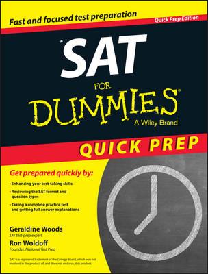 SAT For Dummies: 2015 Quick Prep (Paperback)