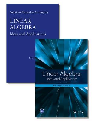 Linear Algebra: Ideas and Applications Set (Hardback)