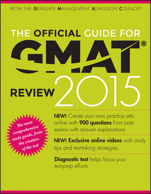 The Official Guide for Gmat (R) Review 2015 with Online Question Bank and Exclusive Video (Paperback)