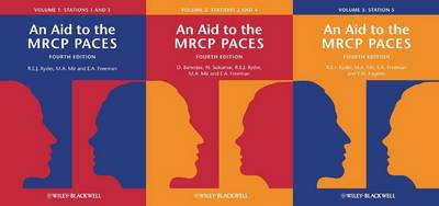 An Aid to the MRCP PACES, Volumes 1, 2 and 3: Stations 1 - 5 (Paperback)