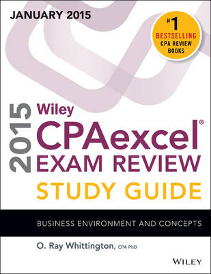 Wiley CPAexcel Exam Review 2015 Study Guide (January): Business Environment and Concepts (Paperback)