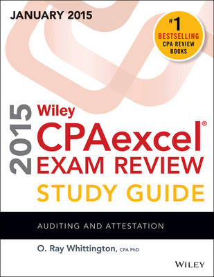 Wiley CPAexcel Exam Review 2015 Study Guide (January): Auditing and Attestation (Paperback)