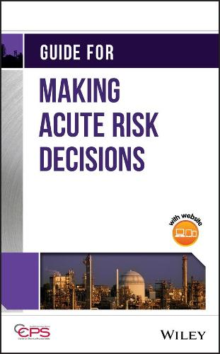Tools for Acute Risk Decisions (Hardback)