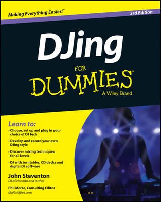 DJing For Dummies (Paperback)
