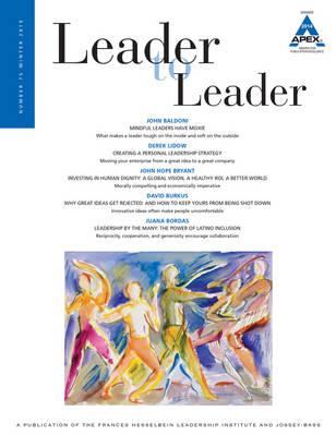 Leader to Leader (LTL), Volume 75, Winter 2015 - J-B Single Issue Leader to Leader (Paperback)