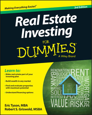 Cover Real Estate Investing For Dummies