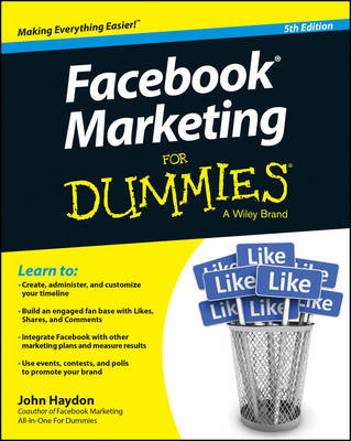 Facebook Marketing for Dummies, 5th Edition (Paperback)