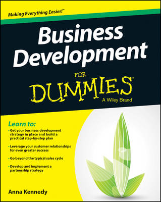 Cover Business Development For Dummies