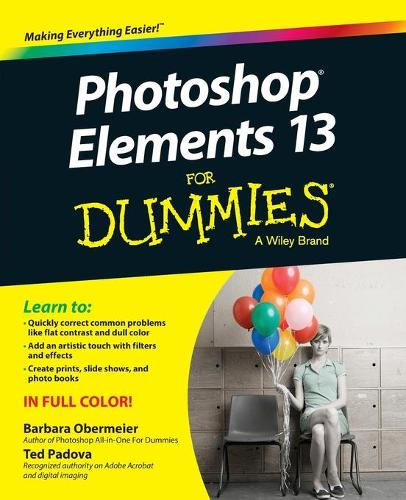 Cover Photoshop Elements 13 For Dummies