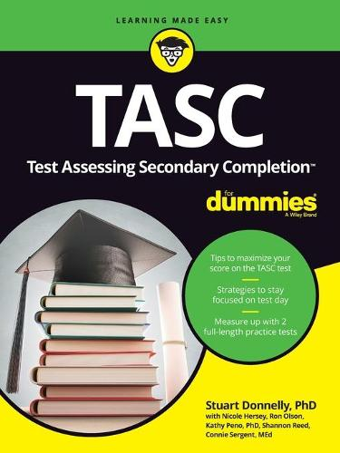 Cover TASC For Dummies