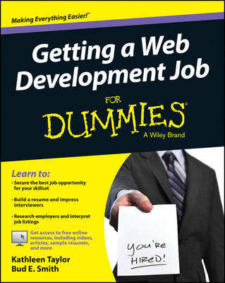 Cover Getting a Web Development Job For Dummies