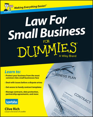 Law for Small Business For Dummies - UK (Paperback)