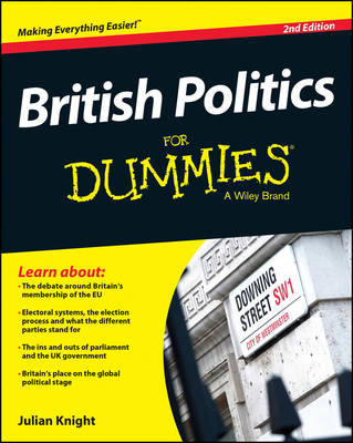 Cover British Politics For Dummies