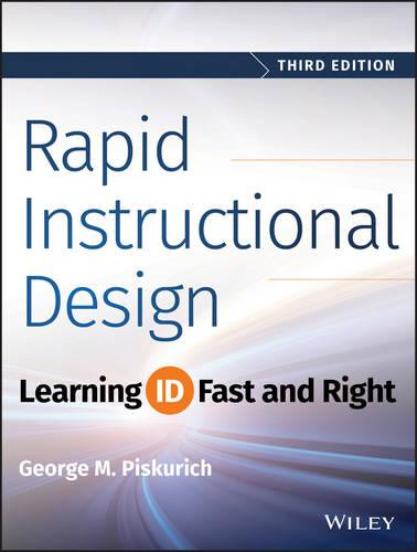 Cover Rapid Instructional Design: Learning ID Fast and Right