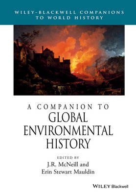 A Companion to Global Environmental History - Wiley Blackwell Companions to World History (Paperback)