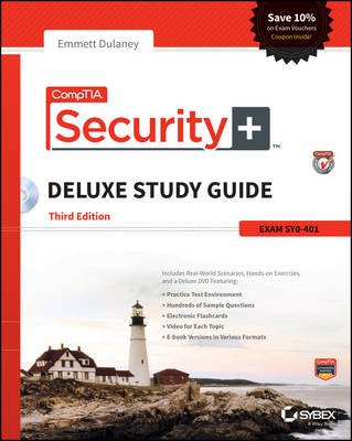 CompTIA Security+ Deluxe Study Guide: Sy0-401 (Hardback)