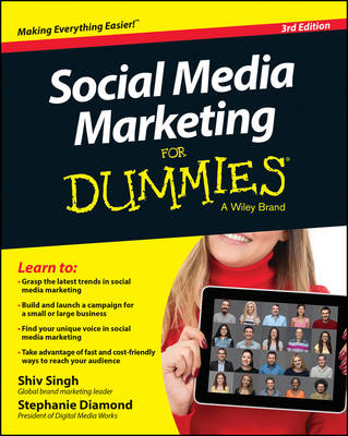 Cover Social Media Marketing For Dummies