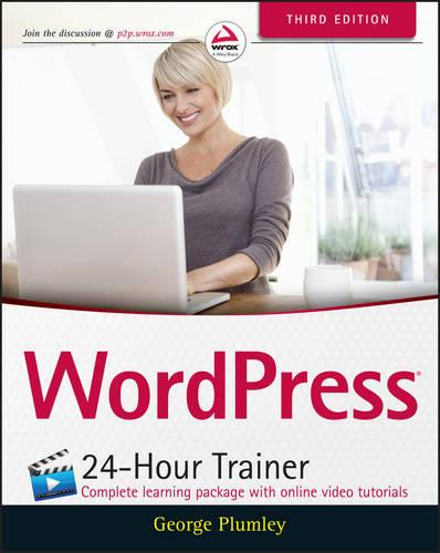WordPress 24-Hour Trainer (Paperback)