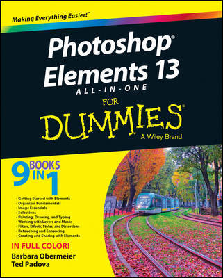 Cover Photoshop Elements 13 All-in-One For Dummies