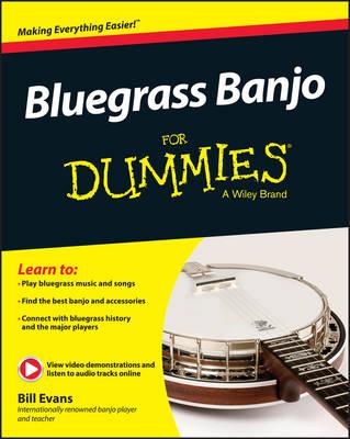 Bluegrass Banjo For Dummies (Paperback)