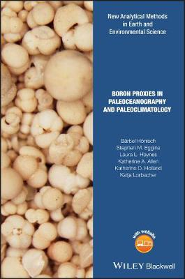 Boron in Paleoceanography and Paleoclimatology - Analytical Methods in Earth and Environmental Science (Hardback)