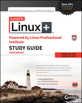 CompTIA Linux+ Powered by Linux Professional Institute Study Guide: Exam LX0-103 and Exam LX0-104 (Paperback)