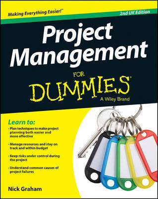 Cover Project Management for Dummies - UK