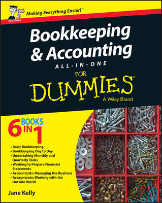 Bookkeeping and Accounting All-in-One For Dummies - UK (Paperback)