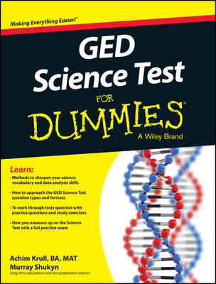 GED Science For Dummies (Paperback)