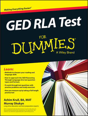 GED RLA For Dummies (Paperback)