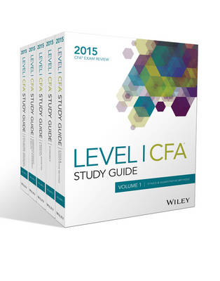 Cover Wiley Study Guide for 2015 Level I CFA Exam: Complete Set