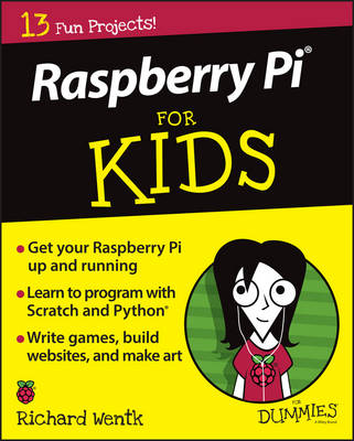 Cover Raspberry Pi For Kids For Dummies - For Kids For Dummies