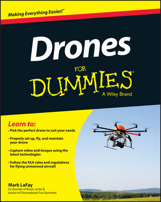 Drones For Dummies (Paperback)