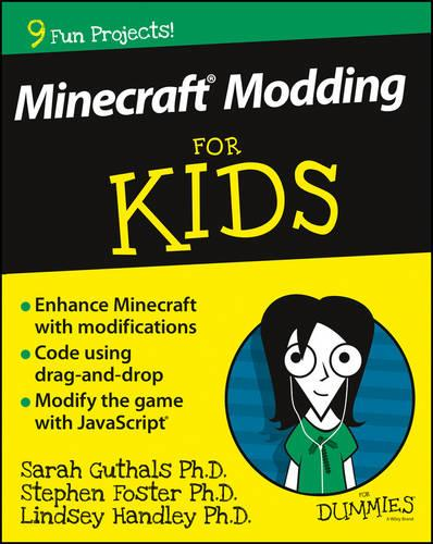 Cover Minecraft Modding For Kids For Dummies - For Kids For Dummies