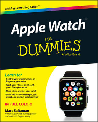 Apple Watch For Dummies by Marc Saltzman | Waterstones